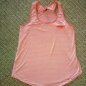 Cable & Gauge Women's Sz L Stripe Tank Top